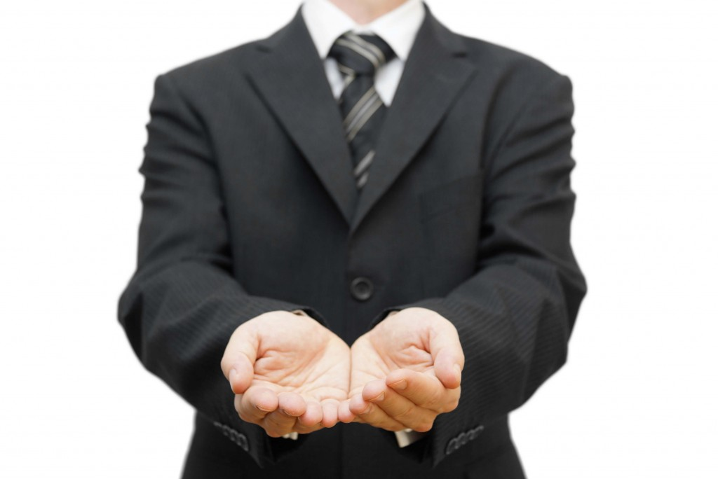 Entrepreneur Begging