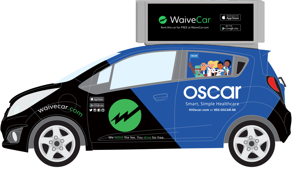 Waivecar Uses Ads To Make Car Sharing Free