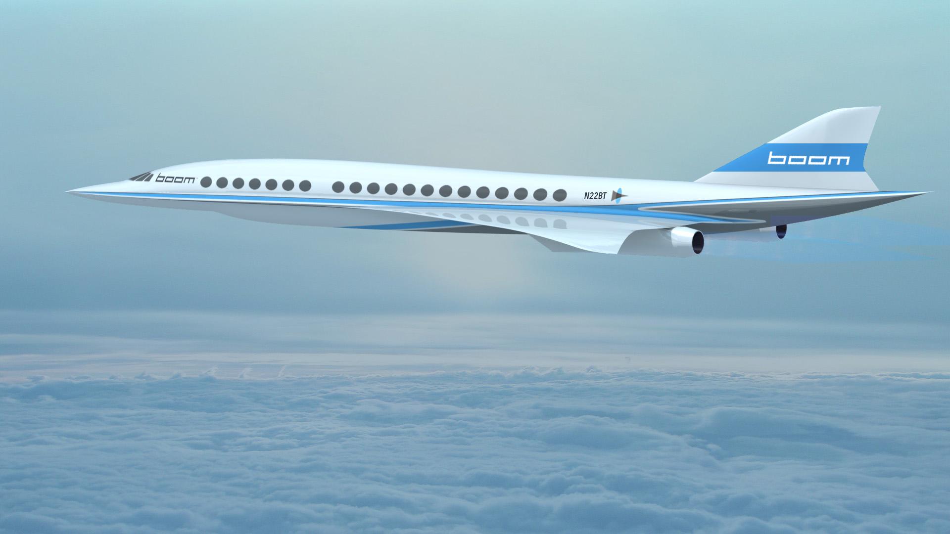 Boom's supersonic passenger jet
