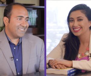 Shama Hyder interviewing author Rohit Bhargava