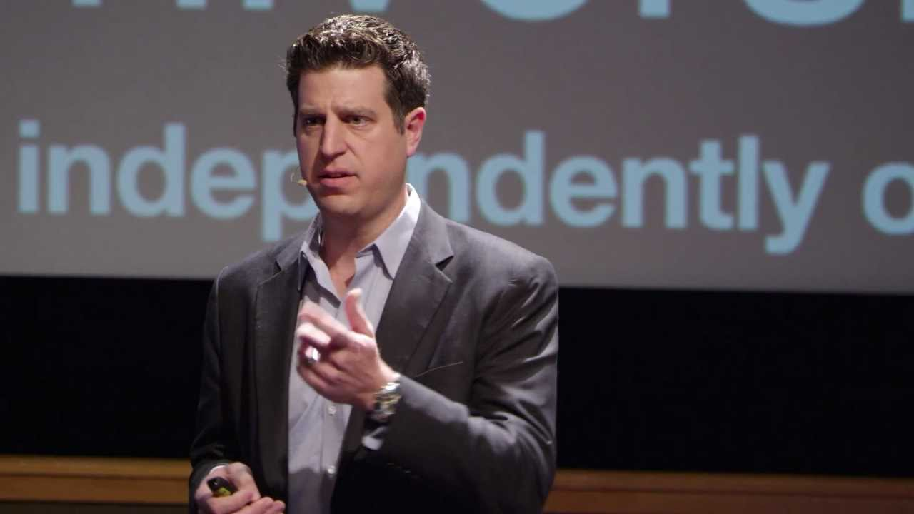 James Kosta, former computer hacker, giving a TED Talk