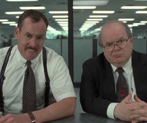 the two Bobs from Office Space