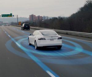 Tesla autopilot self-driving