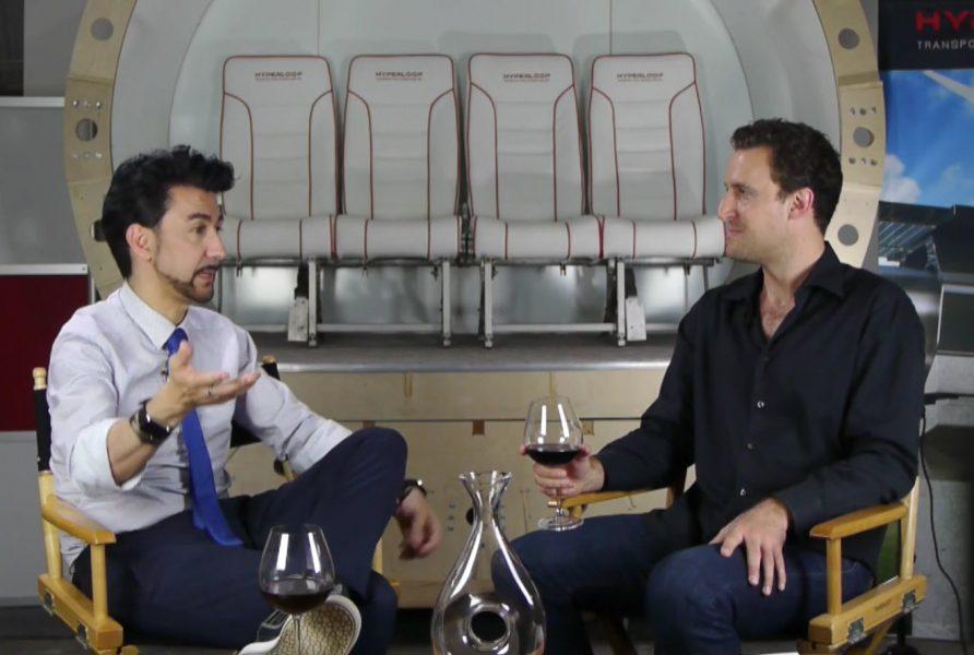 Hyperloop Transportation Technology COO Bibop Gresna and SnapMunk's Benjamin Mann