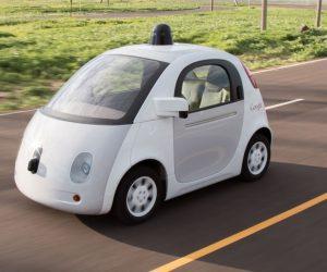 google self-driving car police report
