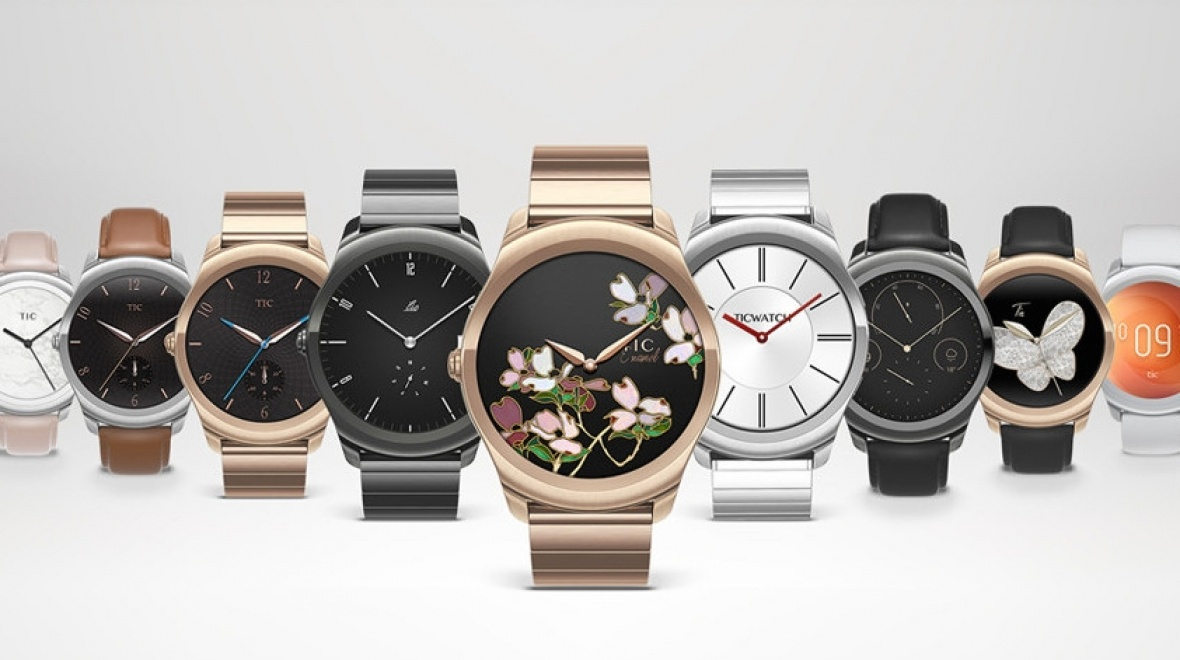 stylish smartwatches from Ticwatch 2 by Mobvoi