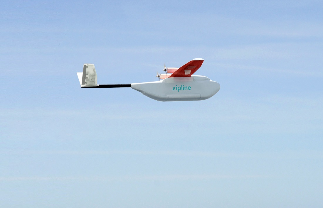 Zipline, The Drone Designed To Deliver Medical Supplies In