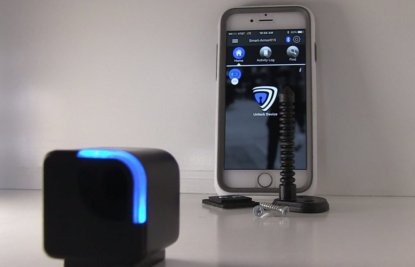 This Quot Attach To Anything Quot Bluetooth Lock May Keep Your