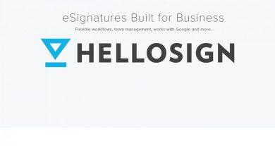 HelloSign eSignatures platform features