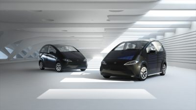 Sion solar-powered cars