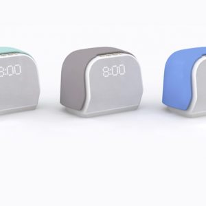 Kello smart alarm clocks in a variety of colors