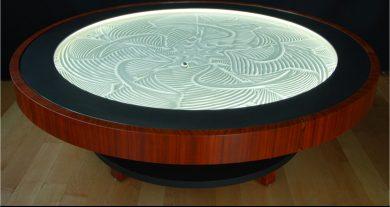 Sisyphus kinetic art table