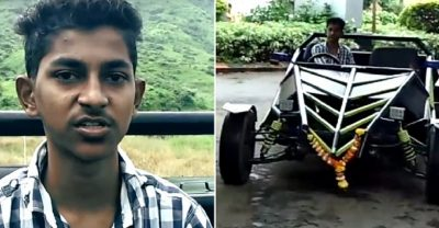 teenager built car from youtube tutorials