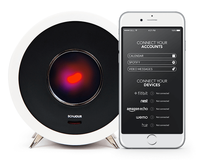 bonjour alarm clock integrations