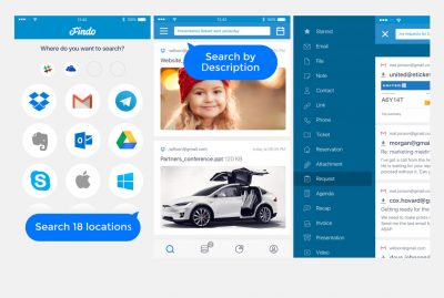 Findo cross-platform search tool