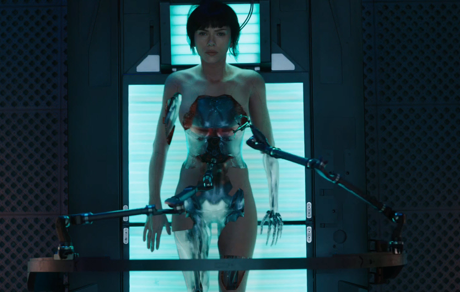 New 'Ghost in the Shell' Trailer Drops After Tokyo Launch