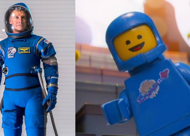 NASA's New Spacesuit Looks Like It's From The Lego Movie