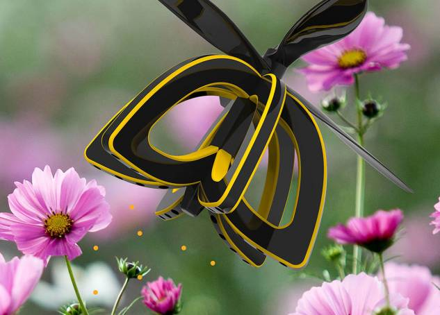A Student-Designed Bee Drone Could Replace the Dying Honeybee