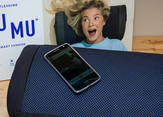 HUMU, The Smart Cushion That Lets You Feel Sound