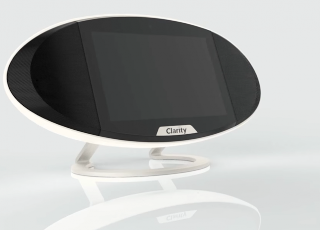 Clarity's Touchscreen Smart Speaker Is Facing Off Against The IoT Big Boys
